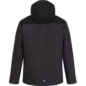 Regatta Highton Stretch Chaqueta Aislante Impermeable Hombre, gris/negro